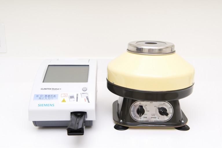 尿分析器(クリニテック ステータス プラス 小型尿分析器)・遠心分離器