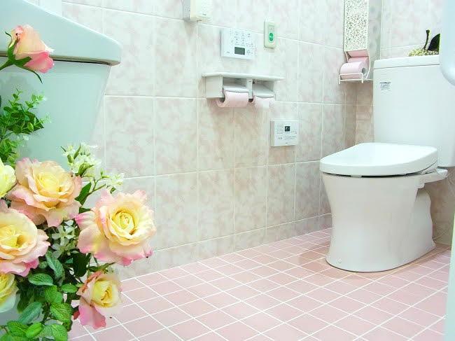 女性専用の待合室・お手洗い